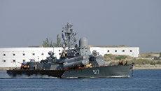 Ракетный катер Черноморского флота. Архивное фото