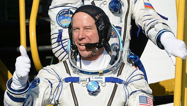 Участник 46/47 длительной экспедиции на Международную космическую станцию астронавт NASA Тимоти Копра. Архивное фото