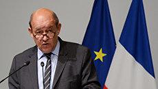 Глава МИД Франции Жан-Ив Ле Дриан. Архивное фото