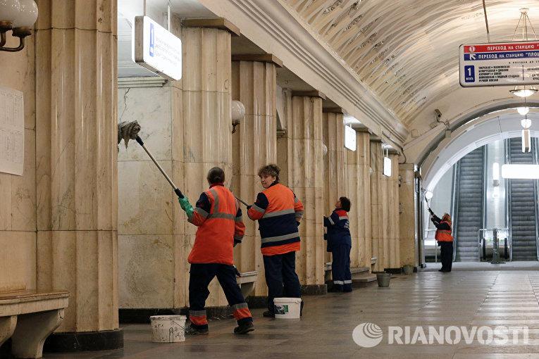 Участок Замоскворецкой линии метро на сутки закрывается на ремонт