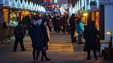 10 юбилейная Рождественская ярмарка в Санкт-Петербурге. Архивное фото