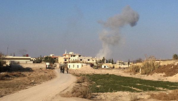 Взятый под контроль Сирийской арабской армией район Мардж аль-Султан. Архивное фото