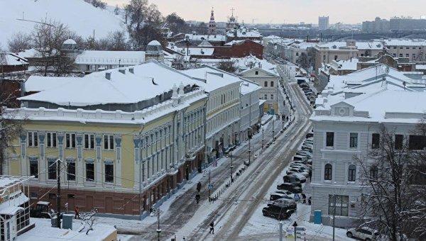 Нижний Новгород. Вид. Архивное фото.
