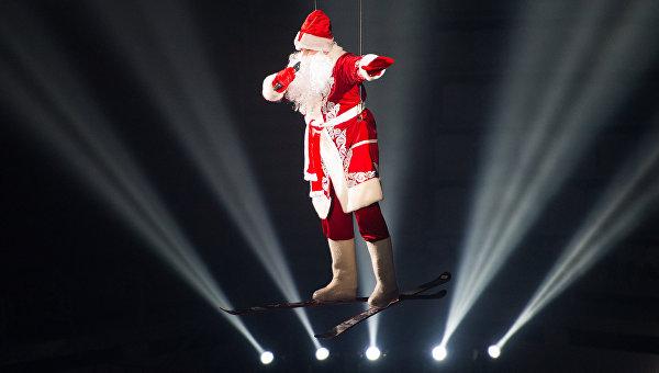 Новогоднее шоу Ильи Авербуха Малыш и Карлсон