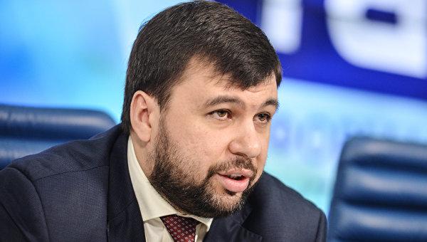 Представитель Донецкой народной республики в контактной группе по урегулированию ситуации на востоке Украины Денис Пушилин. Архивное фото