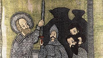 Николай-чудотворец с житием «Избавление 3-х мужей от казни»