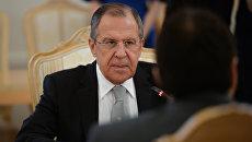 Министр иностранных дел Российской Федерации Сергей Лавров . Архивное фото