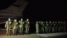 Морпехи ЧФ прибыли в Крым. Архивное фото