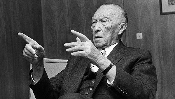 Первый канцлер Федеративной Республики Германия Конрад Аденауэр