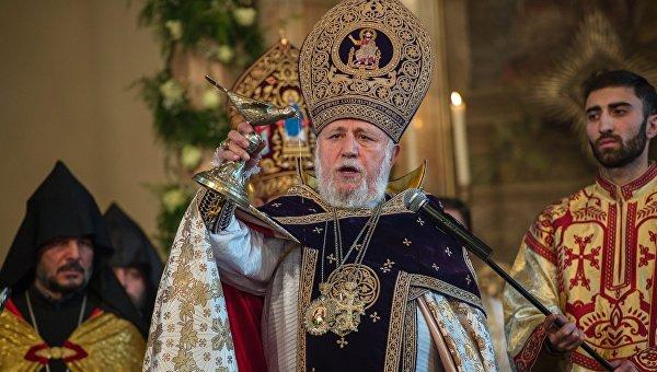 Празднование Рождества в Армении