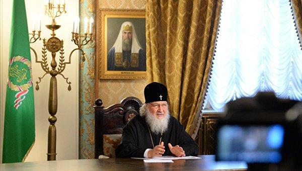 Патриарх Кирилл на Пасху побеседовал с космонавтами МКС
