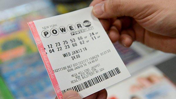 Лотерейный билет Powerball
