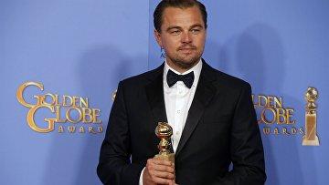 Леонардо Ди Каприо получил Золотой глобус за лучшее драматическое исполнение