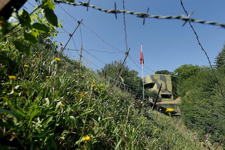 Бывший армейский бункер в Швейцарии