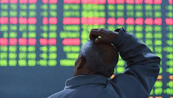 Биржевые торги в  Китае. 11 января 2016. Архивное фото
