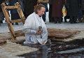 Обряд освящения воды