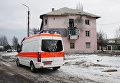 Автомобиль скорой помощи. Донецкая область