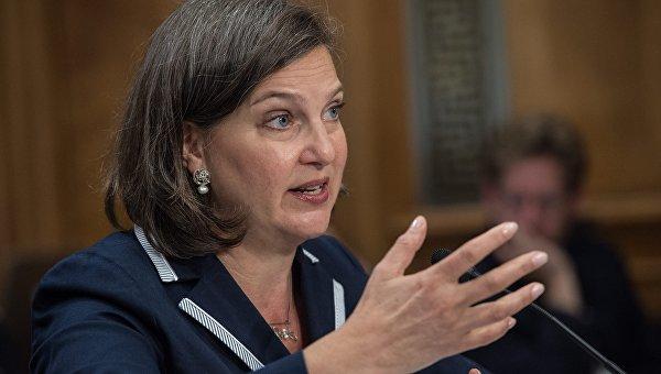 Помощник госсекретаря США Виктория Нуланд