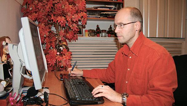 Российский режиссер и художник-мультипликатор Константин Бронзит. Архивное фото