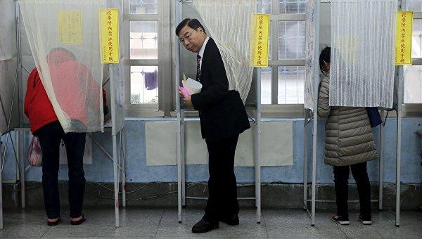 Выборы на Тайване