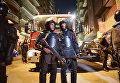Полицейские на месте взрыва бомбы в Каире
