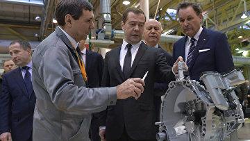 Рабочая поездка премьер-министра РФ Д. Медведва в Самарскую область