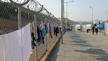 Лагерь сирийских беженцев в Турции