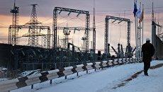 Площадка размещения мобильных газотурбинных электростанций (МГТЭС) Севастопольская в Крыму. Архивное фото