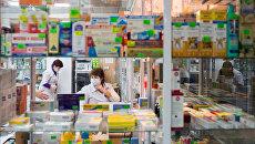 Аптечный киоск. Архивное фото
