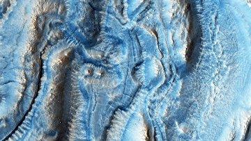 Один из регионов на Марсе. Архивное фото