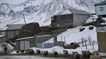 Поселок Куруш в Дагестане. Архивное фото