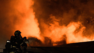 Сотрудники пожарно-спасательных подразделений МЧС. Архивное фото