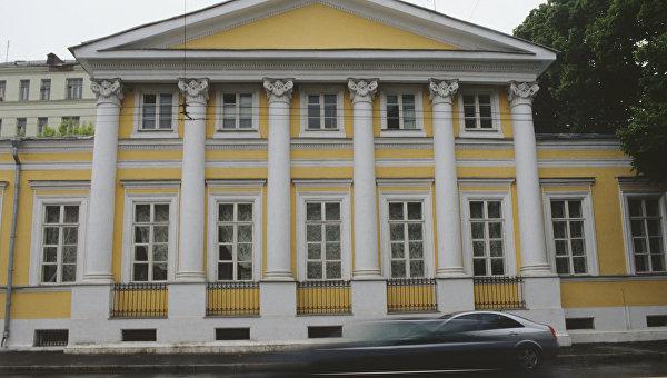 Дом-музей И.С. Тургенева на Остоженке в Москве. Архивное фото