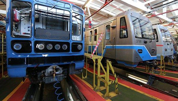 Новые поезда метро с вагонами повышенной комфортности