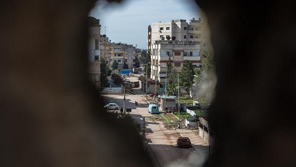 Район города Хомса Ваер, контролируемый боевиками Джебхат ан-Нусра. Архивное фото