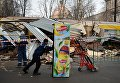 Снос незаконных построек в Москве