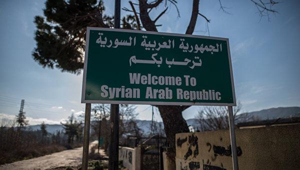 Ситуация на сирийско-турецкой границе, архивное фото