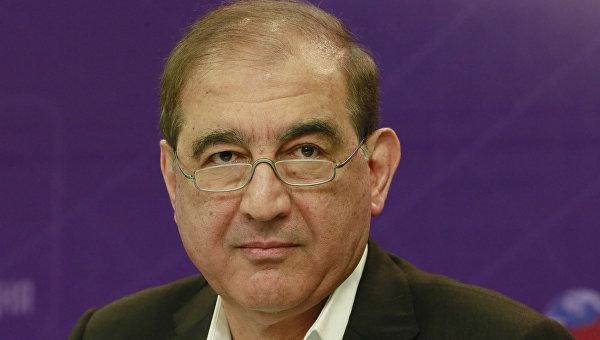 Участник межсирийских переговоров в Женеве, секретарь партии Народная воля, член руководства Фронта за перемены и освобождение Кадри Джамиль. Архивное фото