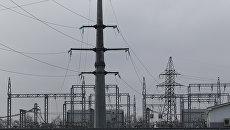 Электрическая подстанция в Краснодарском крае. Архивное фото