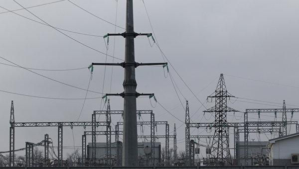 Электрическая подстанция Витаминкомбинат в Краснодарском крае. Архивное фото