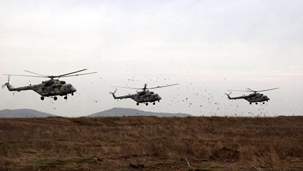 Учения отдельных соединений Воздушно-десантных войск и Военно-транспортной авиации на Чёрном море, в рамках внезапной комплексной проверки боеготовности в войсках Южного военного округа