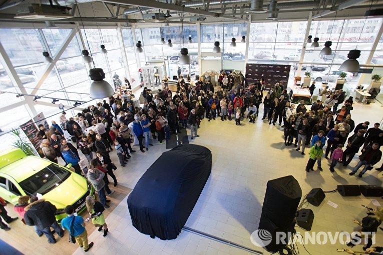 Старт продаж компактного кроссовера Lada Xray