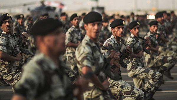 Военные Саудовской Аравии. Архивное фото
