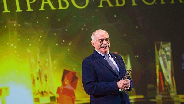 Председатель Союза кинематографистов России, кинорежиссер, народный артист России Никита Михалков на церемонии вручения премии Фемида