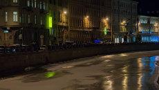 Офис АО Райффайзенбанк на набережной реки Мойки в Санкт-Петербурге