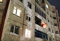 Жилые дома в городе Кировск Мурманской области на которые сошла лавина
