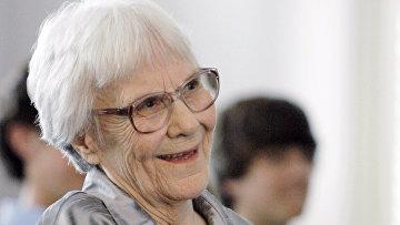 Американская писательница Харпер Ли. Архивное фото