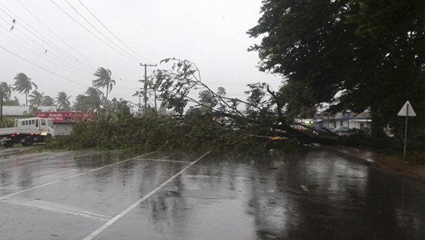 Последствия урагана Уинстон на Фиджи