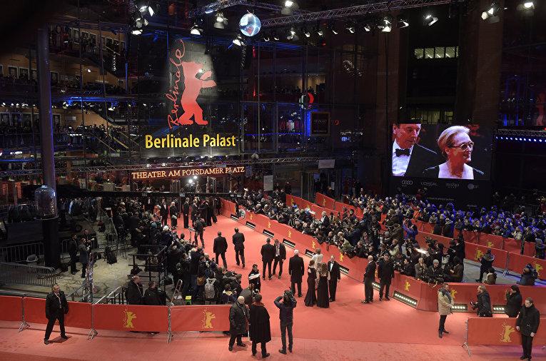Площадка Берлинале паласт, где состоялось закрытие Берлинале - 2016