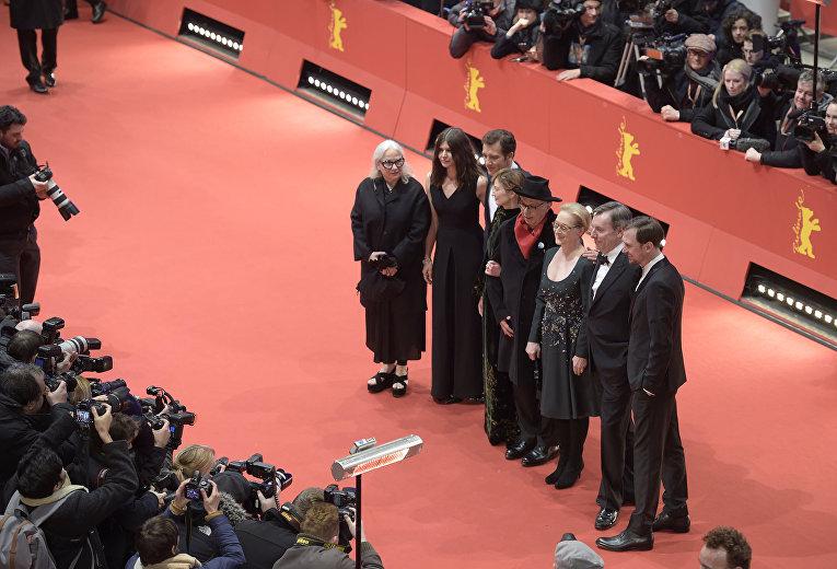 Гости 66-го Берлинского международного кинофестиваля Берлинале - 2016